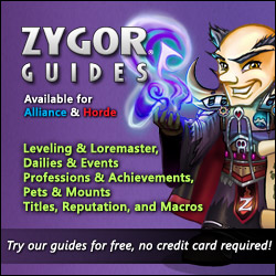 The Zygor Best Selling World of Warcraft Leveling Guides
