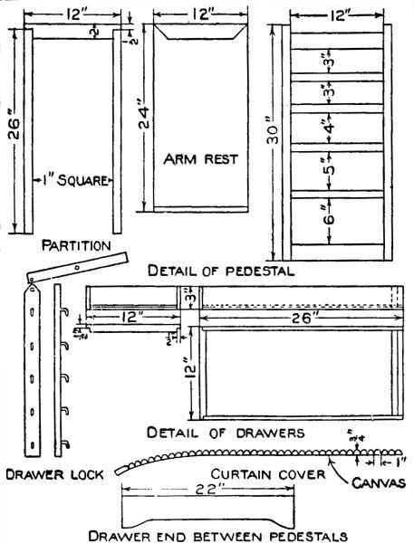 Mission Style Furniture Plans